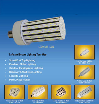 LED Post Top Lamps